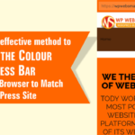 Change the Colour of Address Bar in Mobile Browser