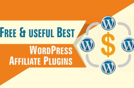 Free & useful Best WordPress Affiliate Plugins For Affiliate Marketers